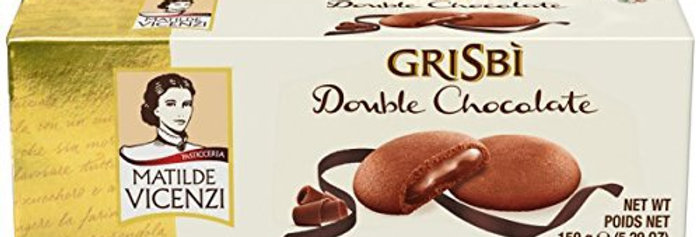 Galletitas Grisbi Doble Chocolate 150 Gramos