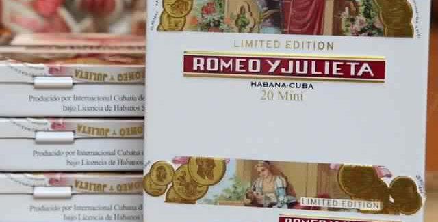 Romeo y Julieta Mini Edición Limitada Caja x 20 unidades