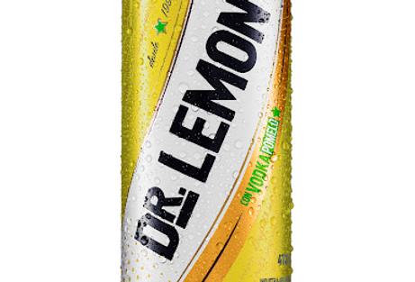 Dr Lemon Vodka Pomelo Lata 473cc Pack x 6 Unidades