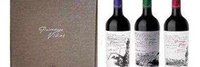 Primeras Viñas Mix Estuche x 3 UD 750cc Malbec LDC, Malbec Gualtallary y Cab Sau