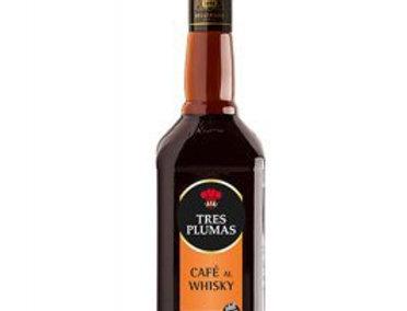 Cafe al Whisky Tres Plumas 750cc