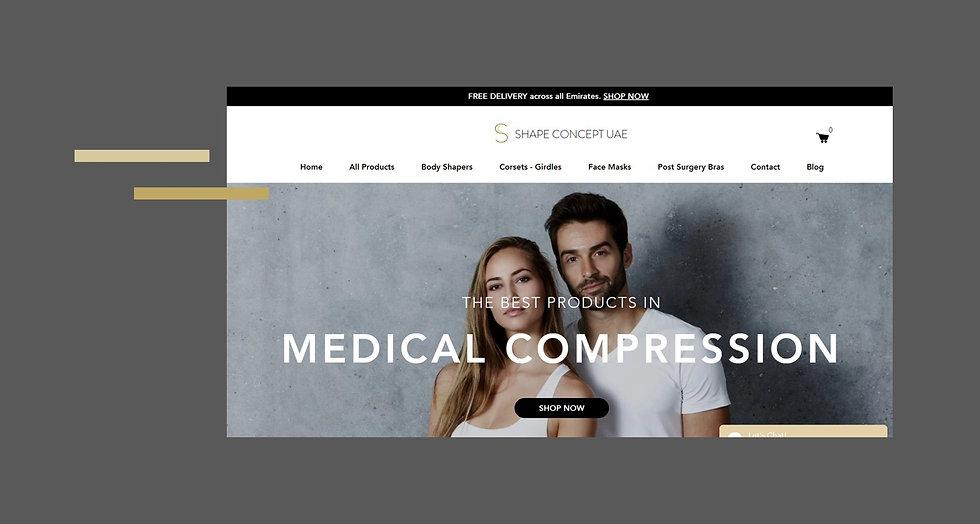 Shape Concept UAE Ecommerce