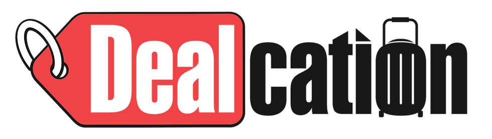 Dealcation Logo - Deals in UAE - Activities, Travel, Dining, Beauty and Spa