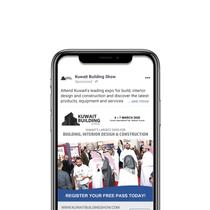 Kuwait Building Show social media campaign