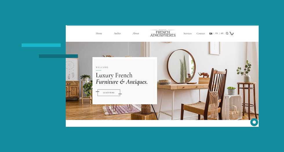 French Atmosphere Ecommerce