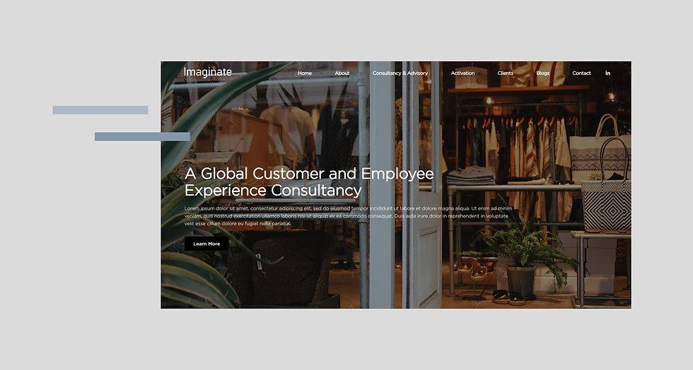 Imaginate Consulting Corporate Website