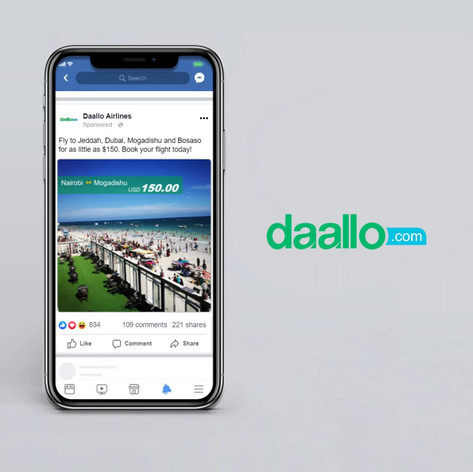 Daallo Airlines Fare Promo