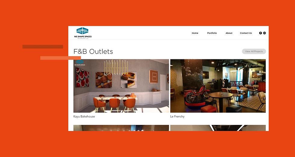 We Shape Spaces Portfolio Website