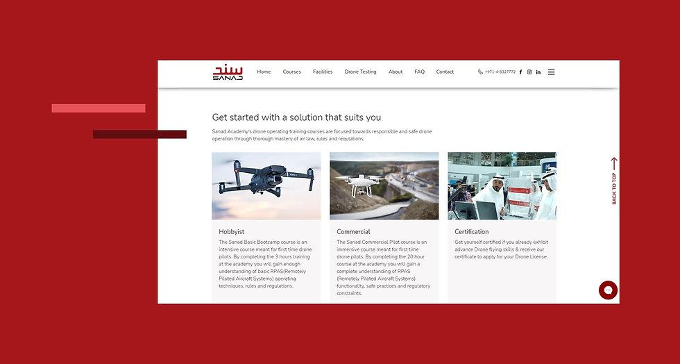 Sanad Academy Website Revamp