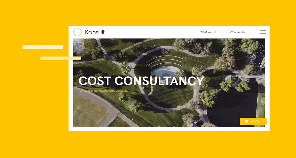 Konsult Cost Consultancy corporate website