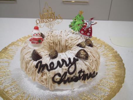 2018.クリスマスケーキ