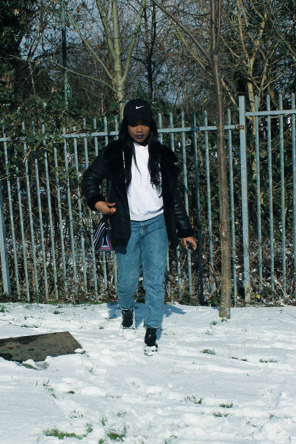 London Snow Days, Fashion Blogger