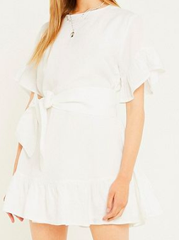 Urban Outfitters - Tie Dress