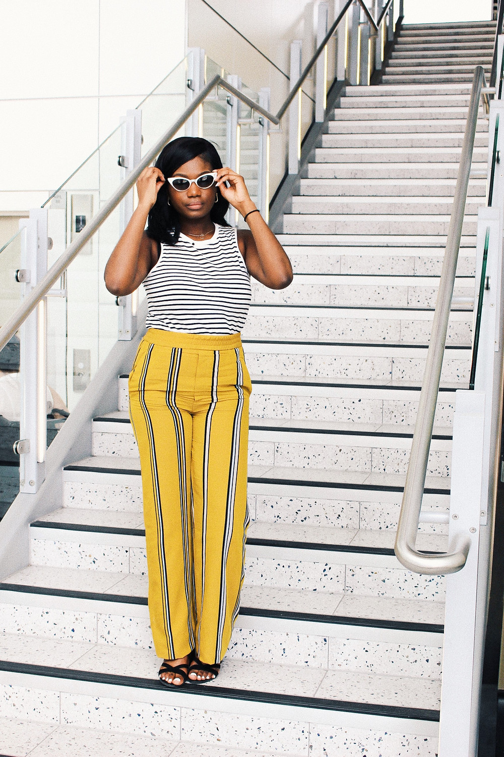 Girls Trip To Barcelona Airport outfit