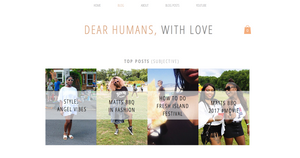 Old blog layouts