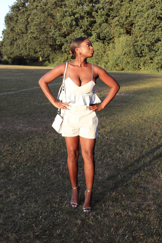 London Fashion Blogger Styling Playsuits