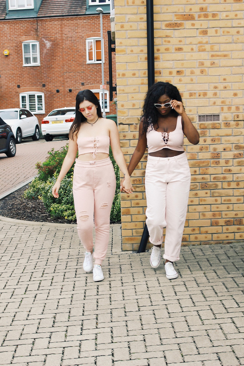 All pink blogger photoshoot - how to wear pink