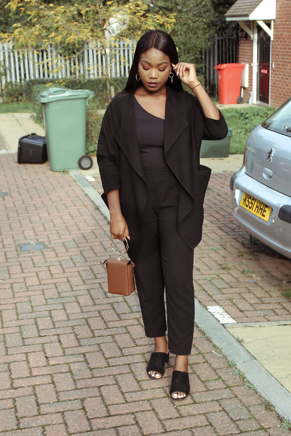 Lifestyle and Fashion Blogger, All black OOTD