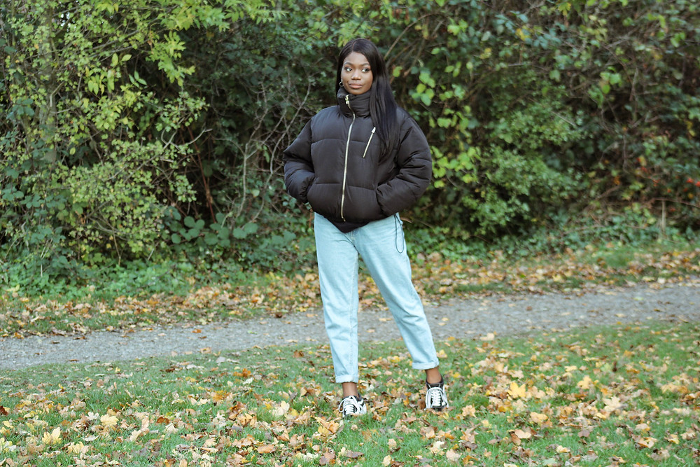 Fashion blogger | Mom Jeans Style