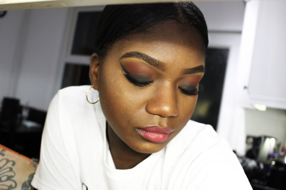 A Londoners blog post on my friend doing my makeup using, mac, nyx and smashbox products.