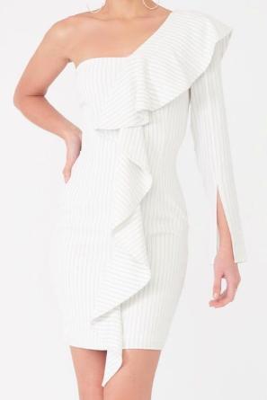 Lavish Alice - Pin Stripe Dress