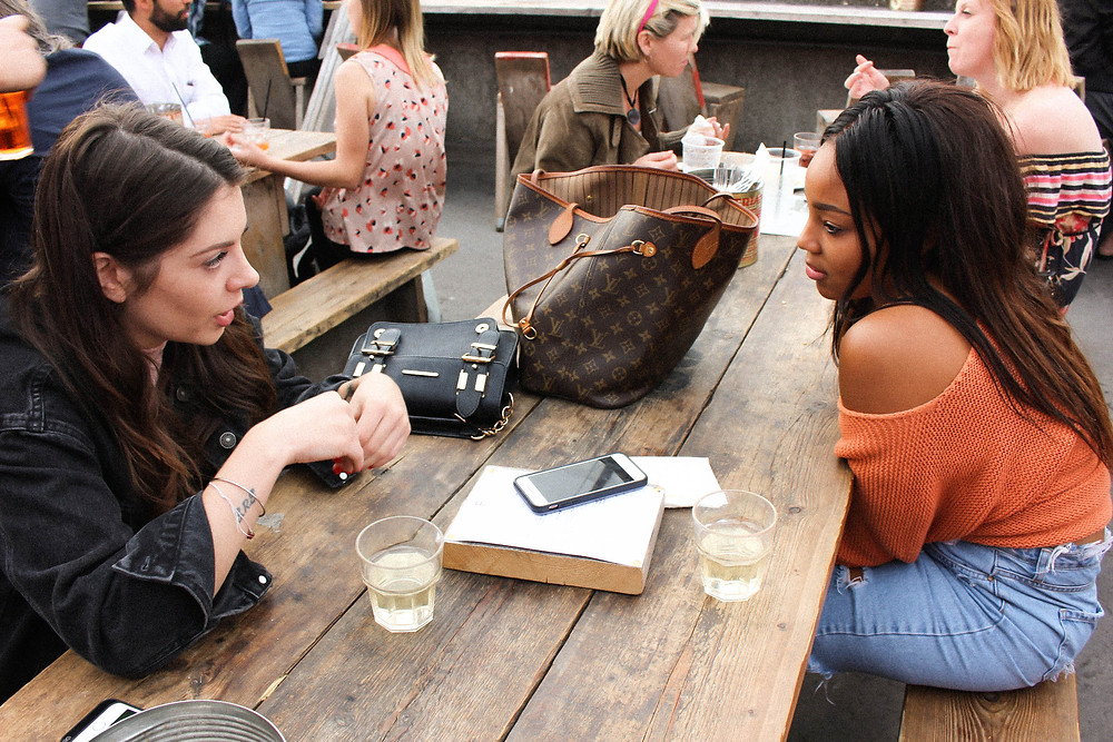 A super cute rooftop bar in Peckham. Franks Cafe is Trendy, cool and a great place to visit in London.