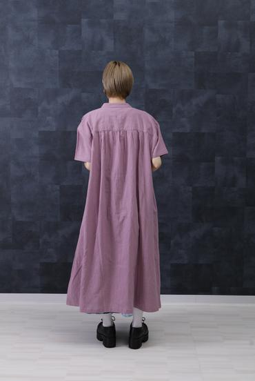 Linen Viscose Pleated Skirt