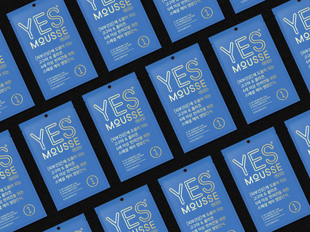 YES MOUSSE. Brand Identity Design