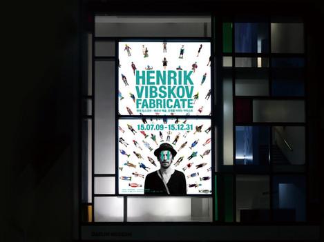 Daelim Mueum. Henrik Vibskov Fabricate. Exhibition Identity Design