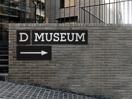 D Museum. Signage Design System