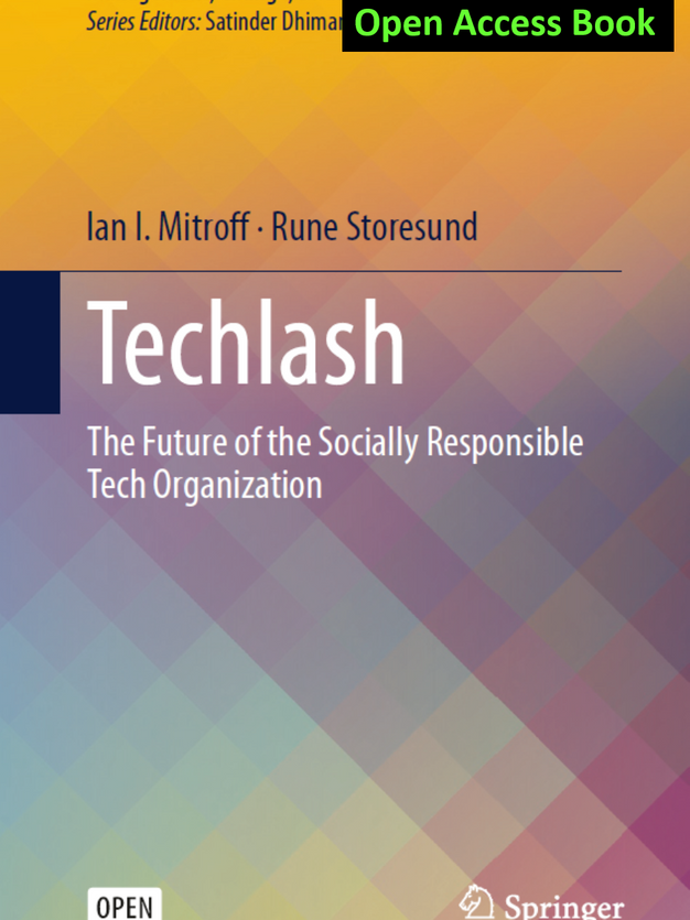 Techlash - The Future of the Socially Responsible Tech Organization