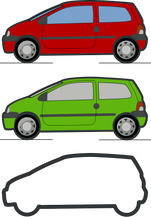OCA-168-red and green renault twingo.png