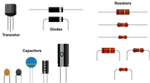 OCA-8398-Transistor, Diode, Resistors, C