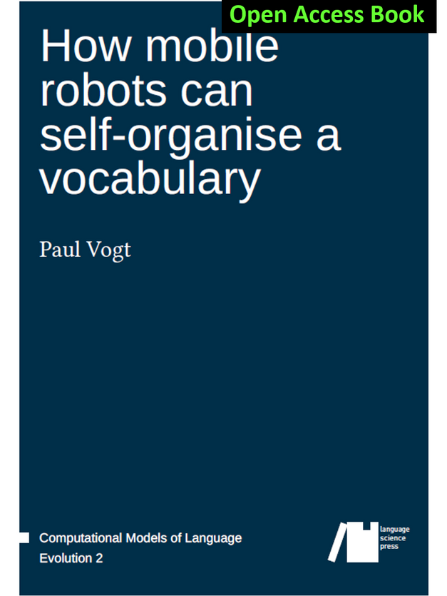 How mobile robots can self-organise a vocabulary