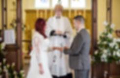 Black Notley Church Wedding