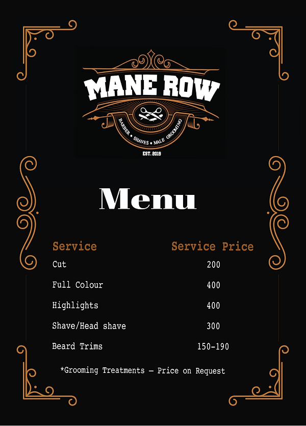 Mane Row Menu.png