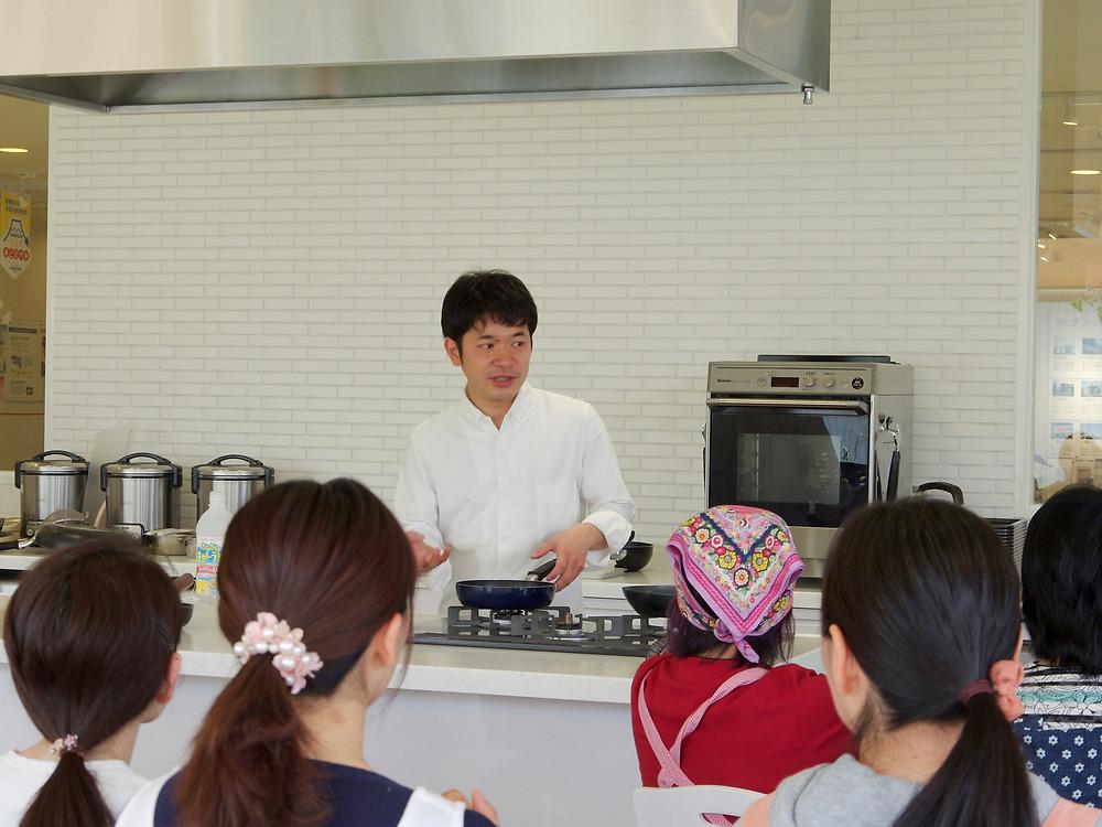 静岡ガス料理教室フライパン