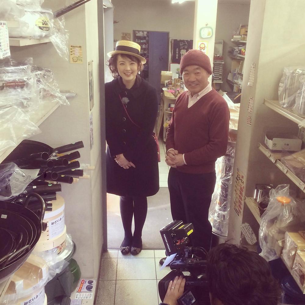 内藤金物店SBS三丁目の昭和小沼みのりアナ