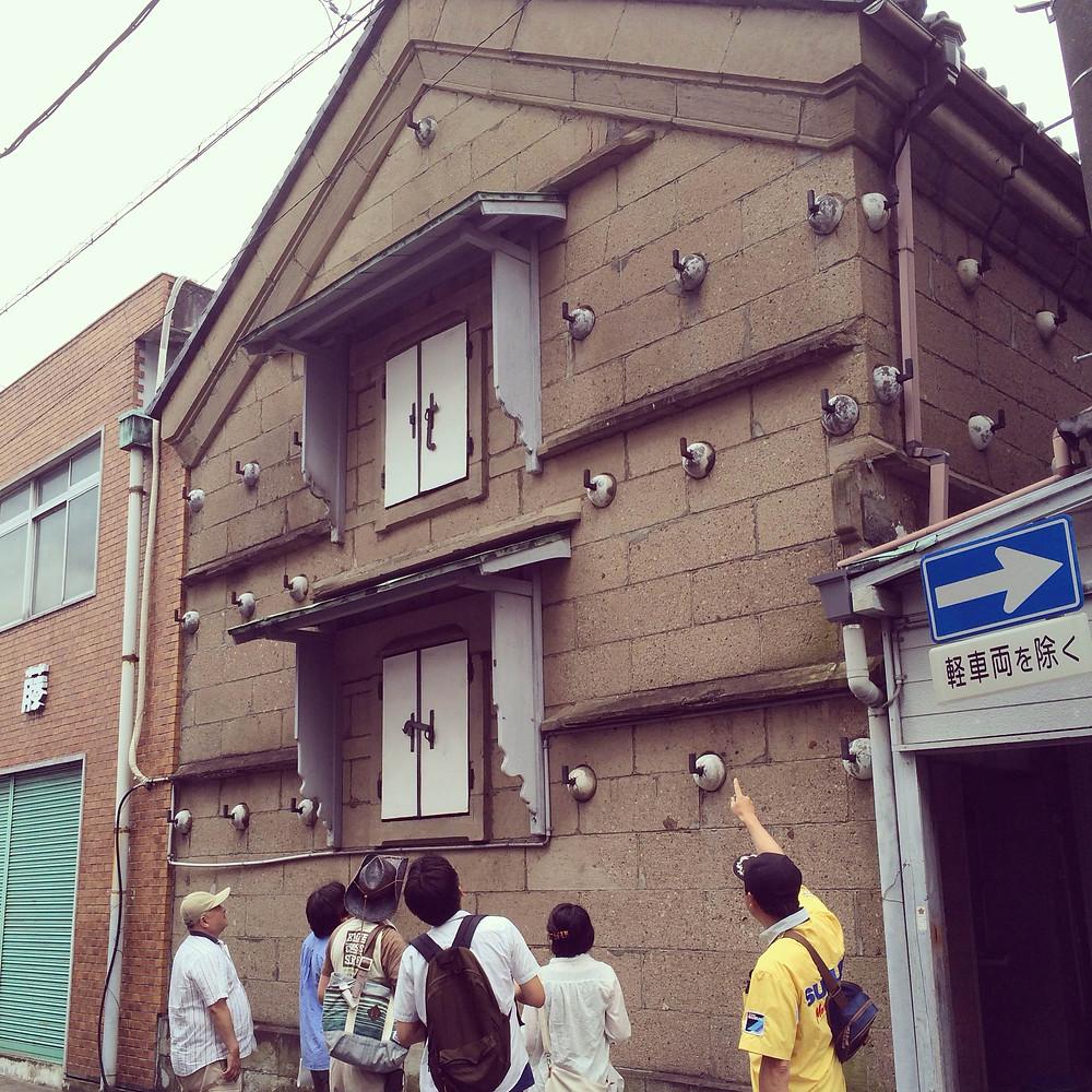 内藤金物店の石蔵_伊豆石