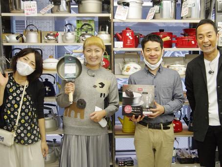11/17(火)静岡第一テレビ「まるごと」出演 丸山桂里奈さんが来た!