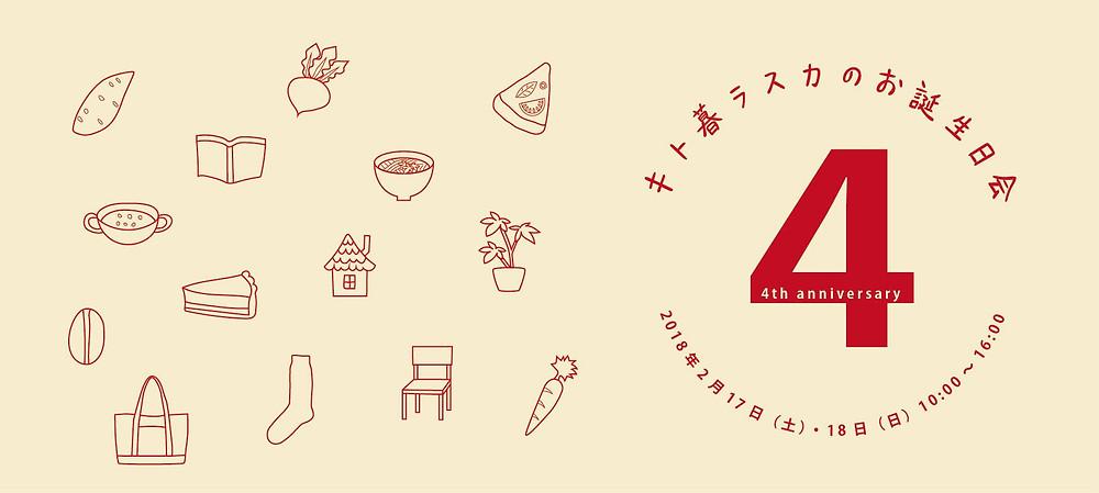 キト暮ラスカのお誕生日会4 内藤金物店