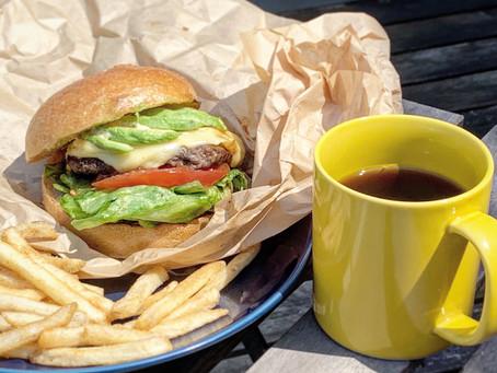 笑みやのハンバーガー。吉原にテイクアウトのハンバーガー屋さんができた