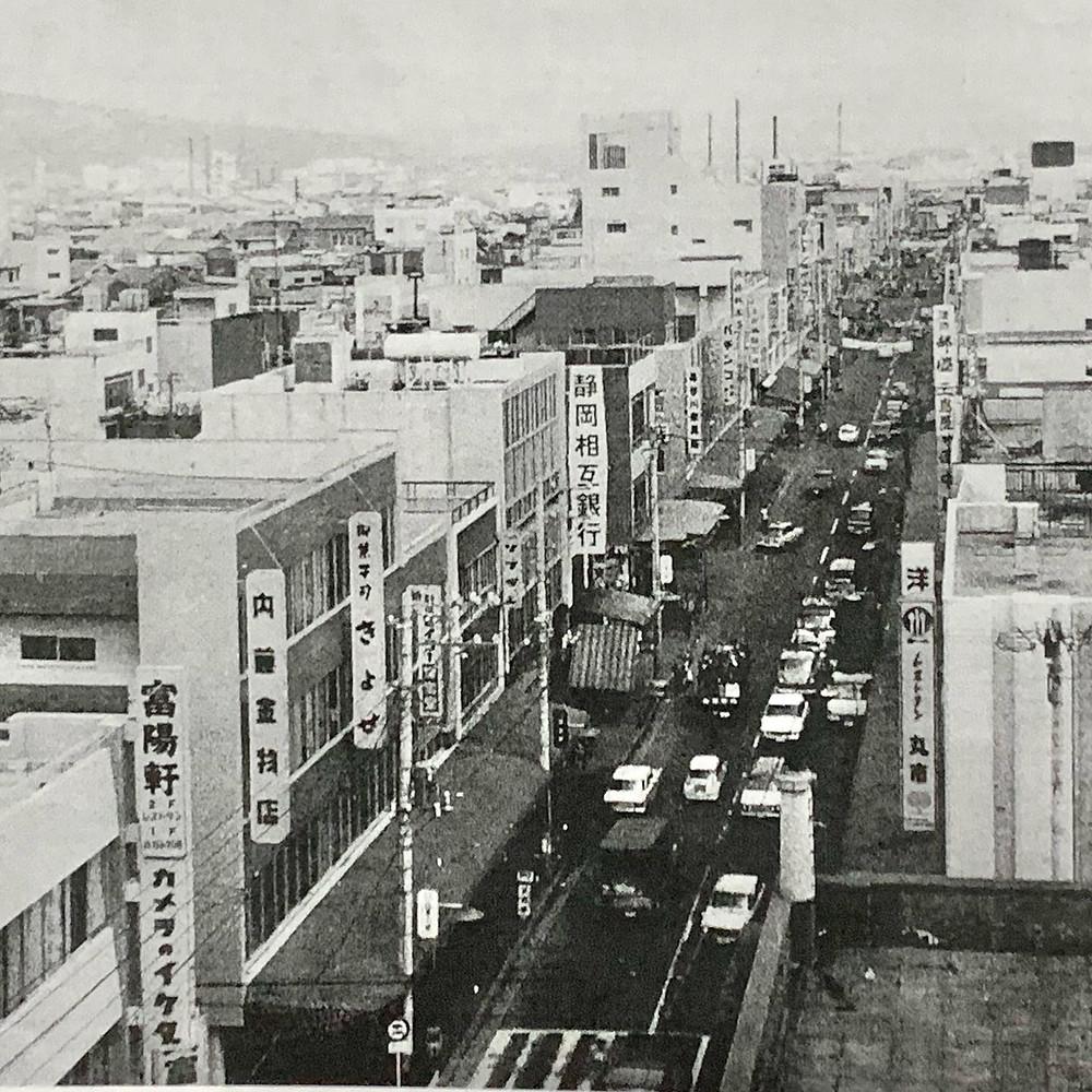昔、昭和40年代の富士市吉原商店街