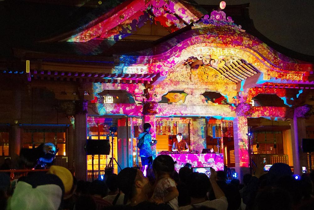 大沢伸一富士市富知六所浅間神社の夏祭り
