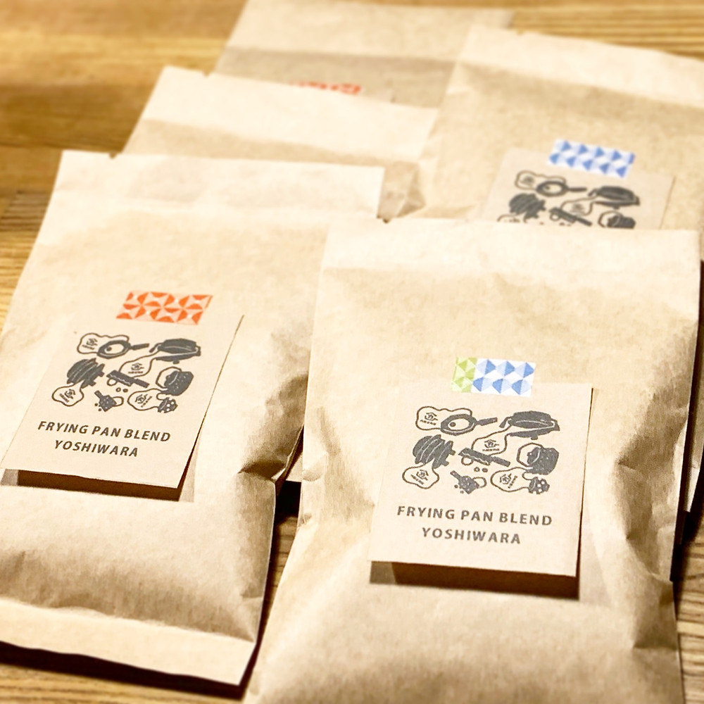内藤金物店オリジナルコーヒー豆フライパンブレンド