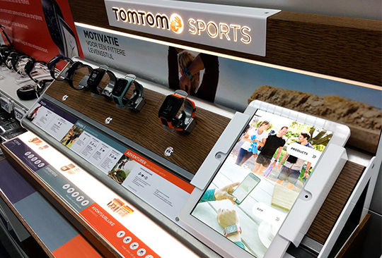 Bespoke project with TomTom Sports