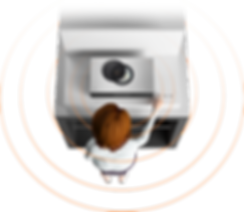 MyPlayer - MyDLNA: showing person interacting with a retail display