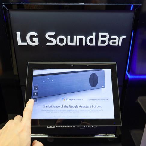 LG Soundbar Wall - Update: SL9