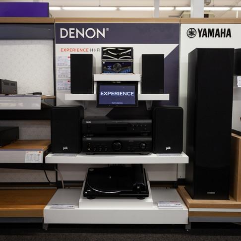 Denon - Premium Hi-Fi Wall
