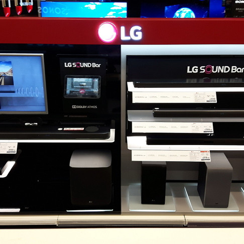 LG Soundbar Display - Currys PC World